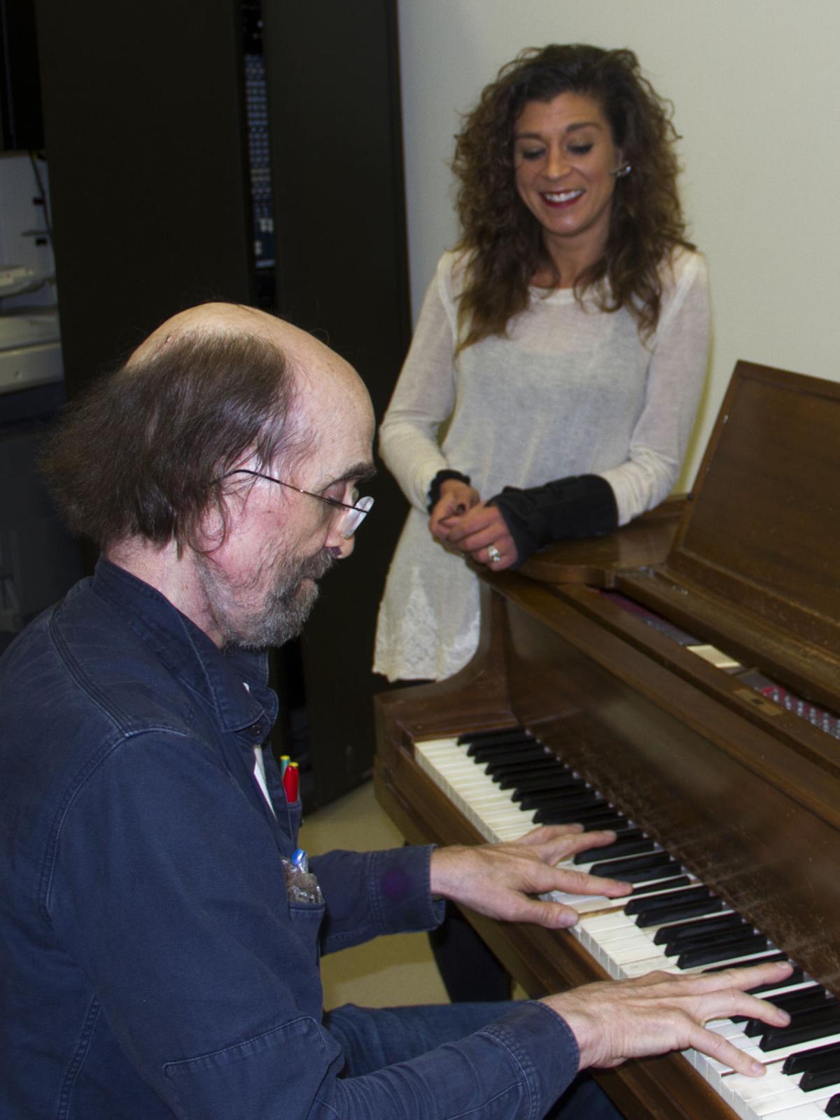 George Winston and Katie Harrill