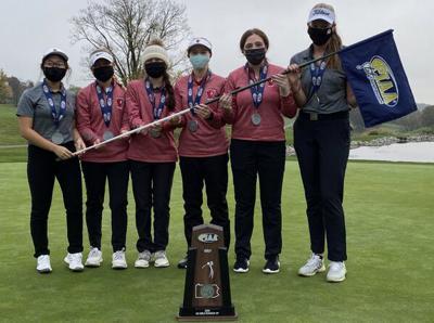 Peters Township girls golf