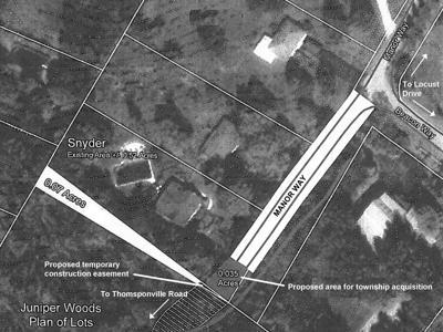 Manor Way map