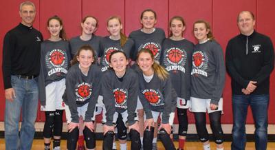 Upper St Clair 8th Grade girls travel team