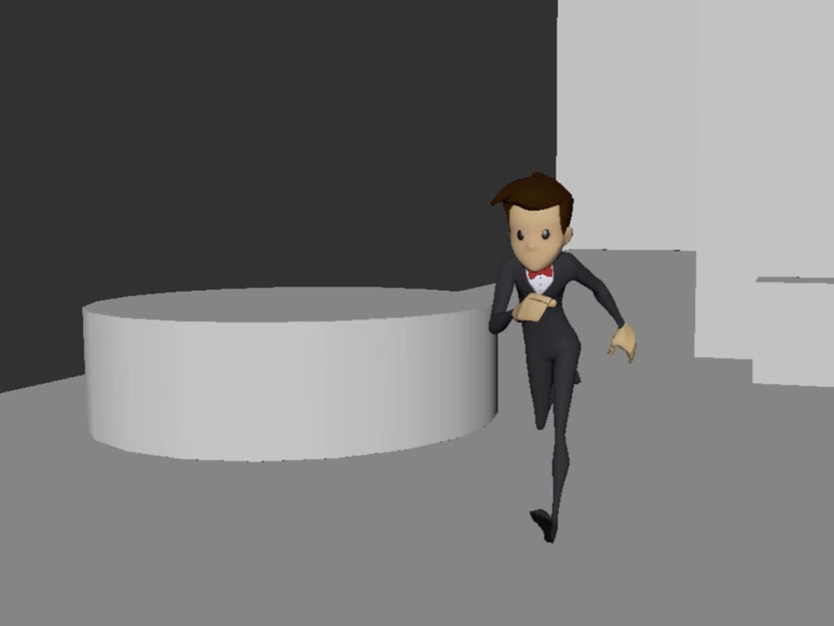 Groom animation