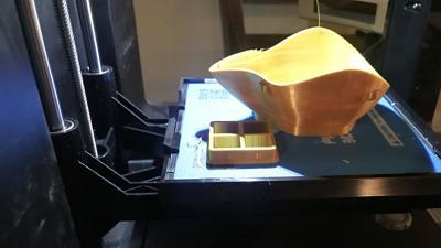 Printed mask and gasket