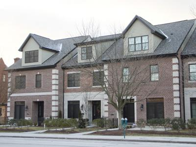 Uptown Place townhouses