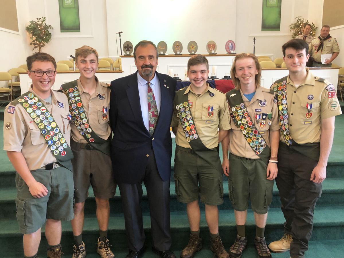 Troop 215 Scouts