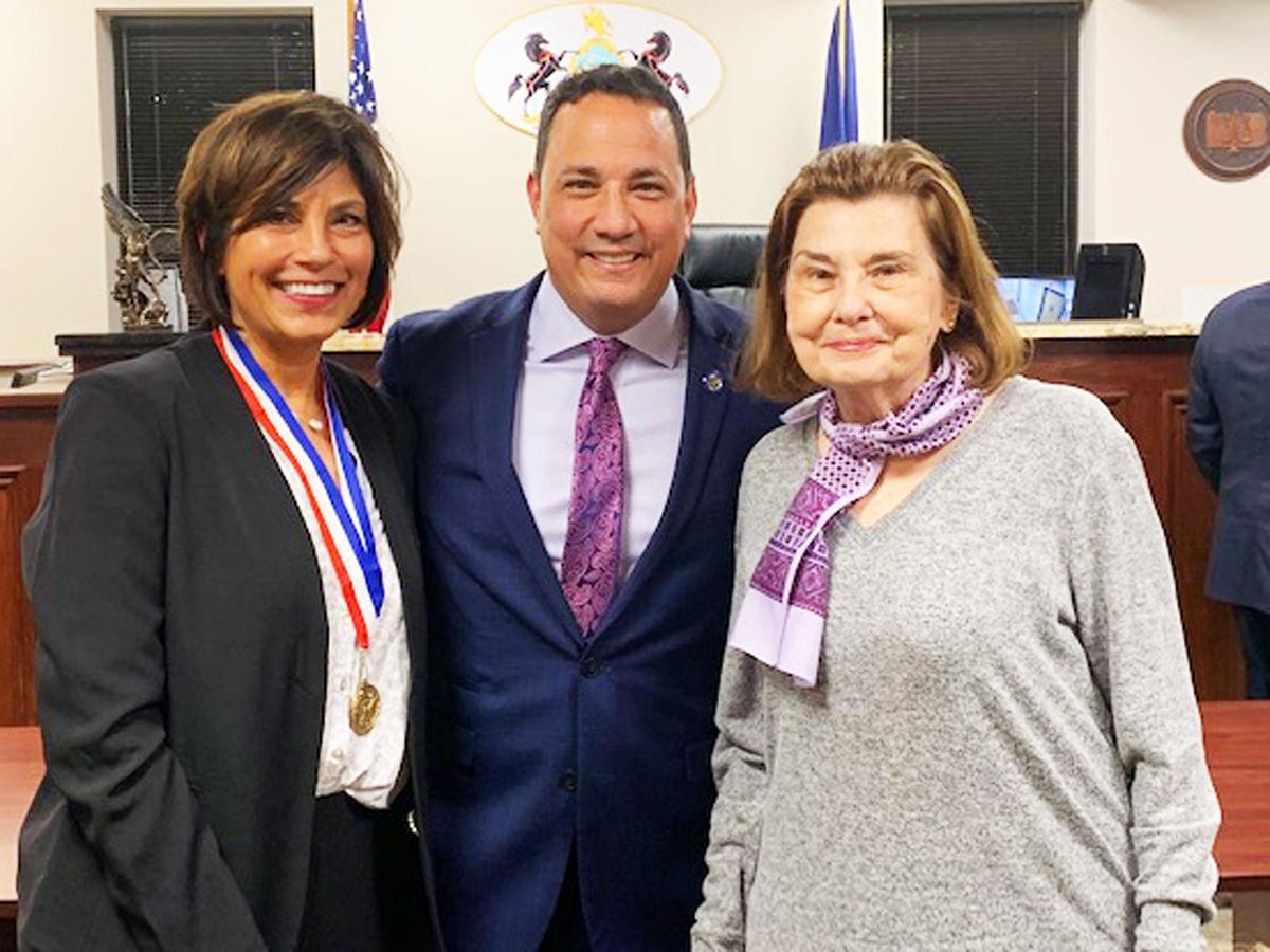 Paula Henderson, Ron Arnoni and Carolyn Graham