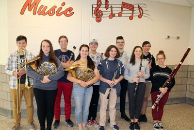 Bethel Park honors band