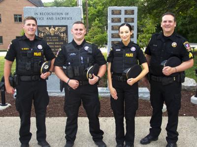 Peters Township officers