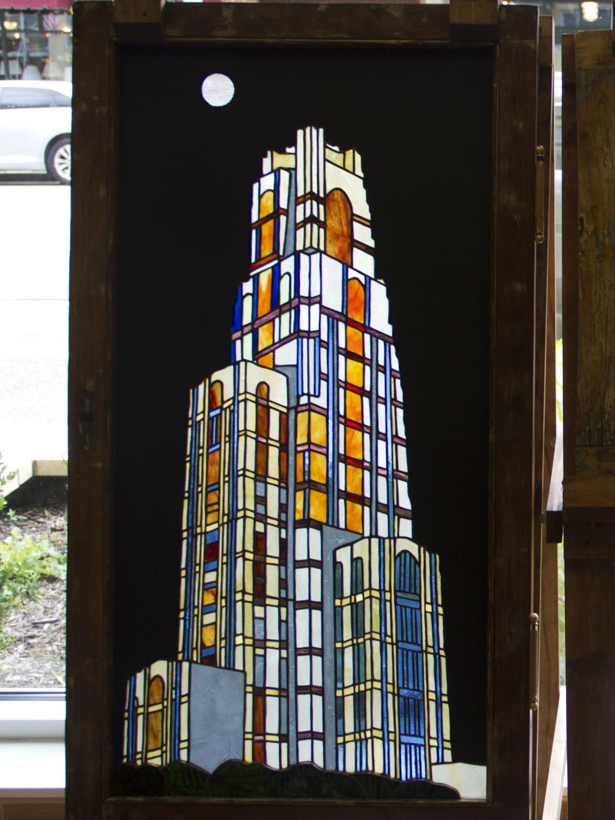 Artist's stained glass graces Mt  Lebanon hotel | News