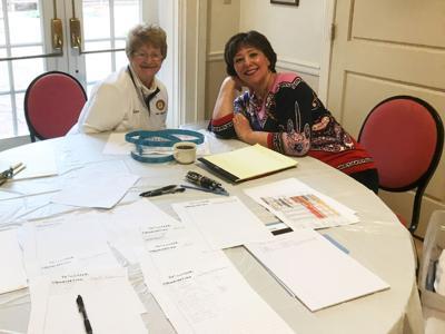 Barbara Piconi and Karen Pfeil