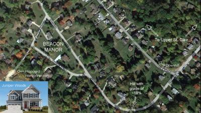 Beacon-Juniper map