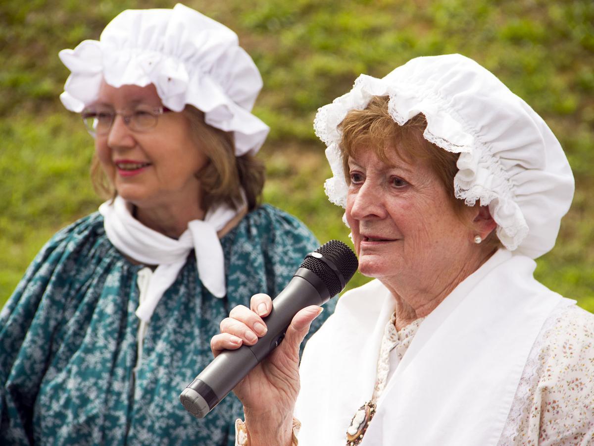 Donna Marraccini and Betty Amato