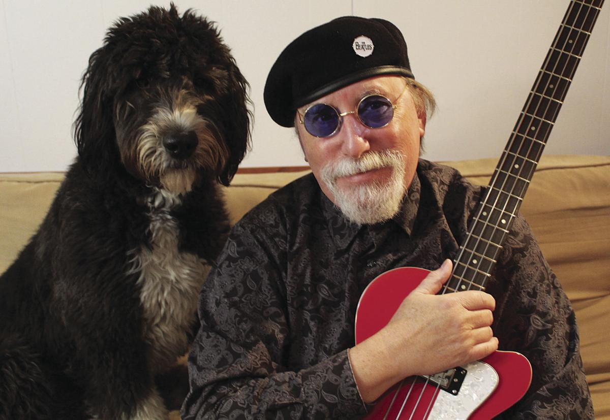 Dave Molter with Izzy