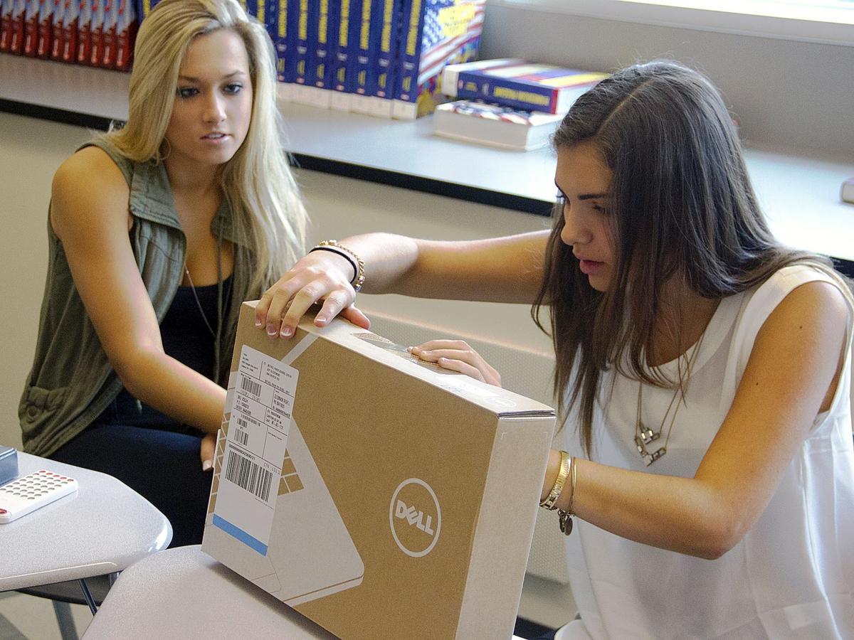 Chromebooks distributed at Bethel Park High School