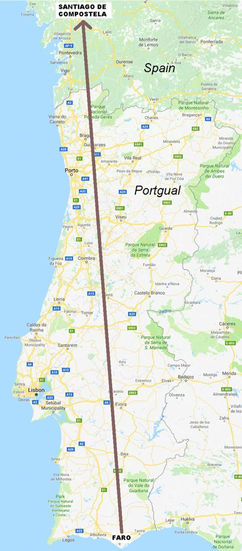 Map Of Portugal And Spain.Portugal Spain Map Thealmanac Net