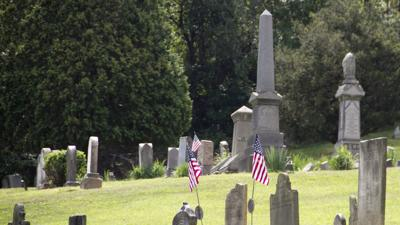 'Headstones of American History' project dedicated at Mingo Cemetery