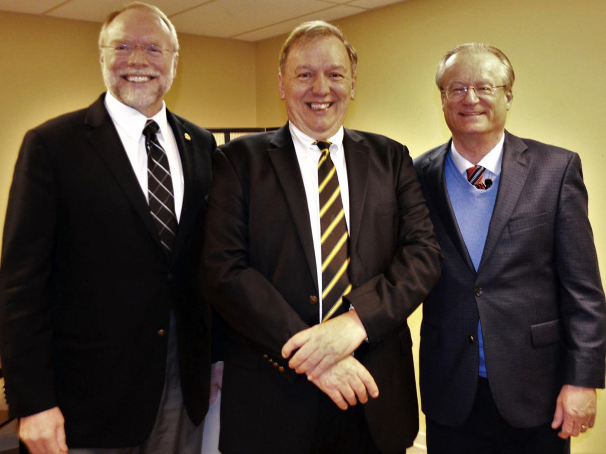 Andy Masich, Mike Suley and James R. Hansen