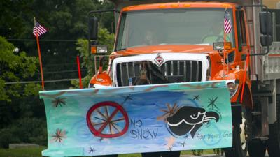 Decorated snow plows highlight Bethel Park Community Day parade