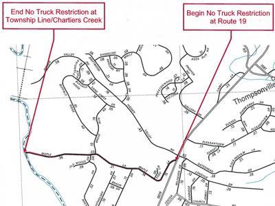 Maple Lane map