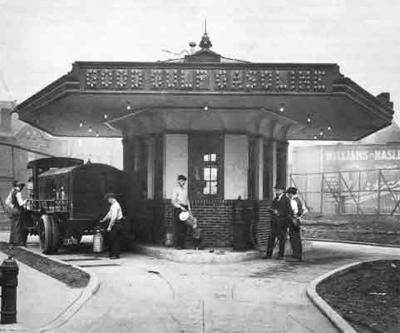 Pittsburgh was the home of the country's first gas station