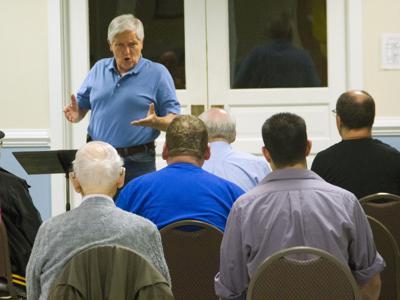Ken Williams conducting