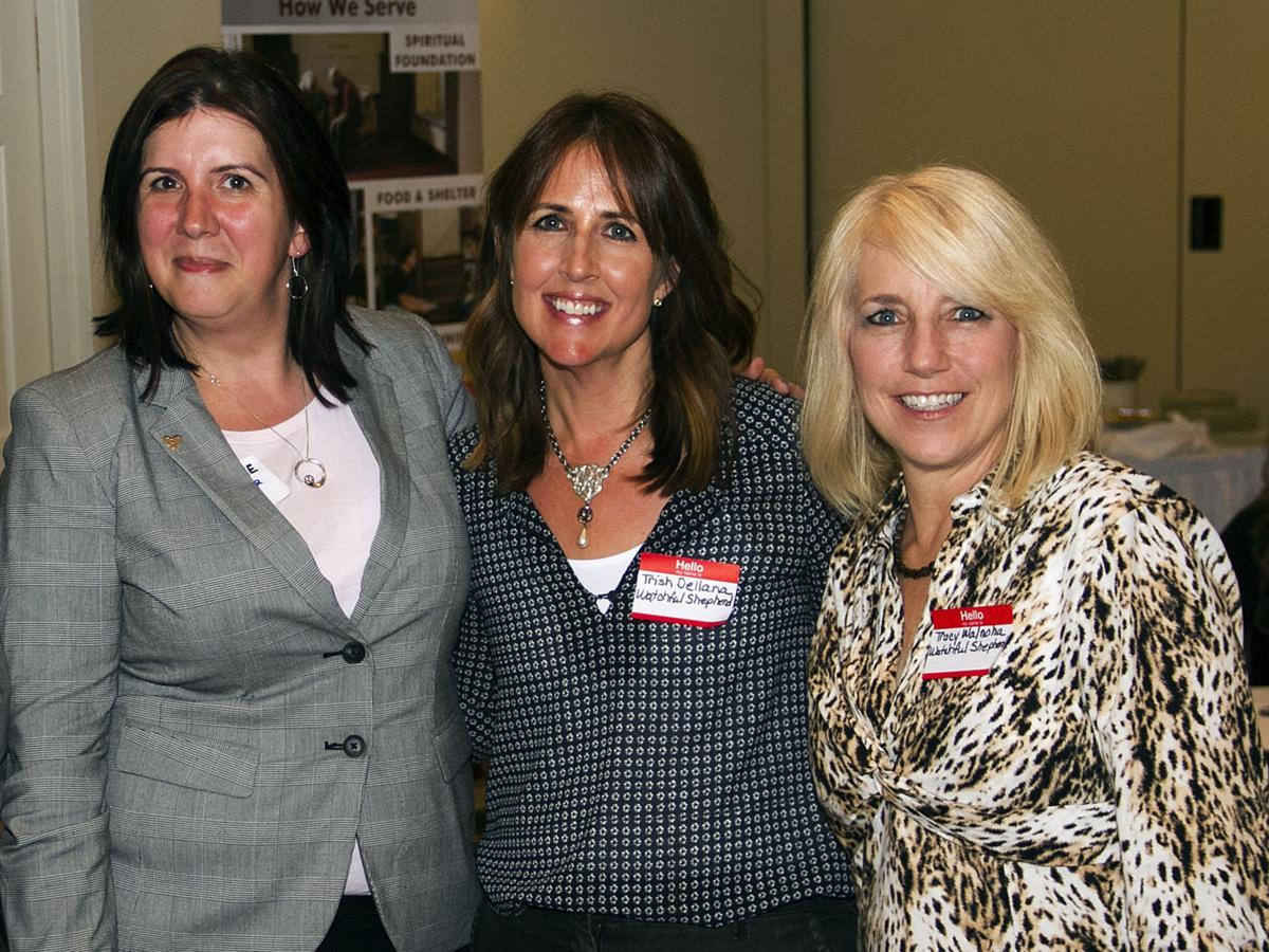 Carrie Richardson, Trish Dellana and Tracy Walnoha