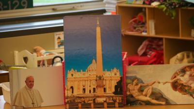 Immersion Day: St. Thomas More students 'travel' to Europe