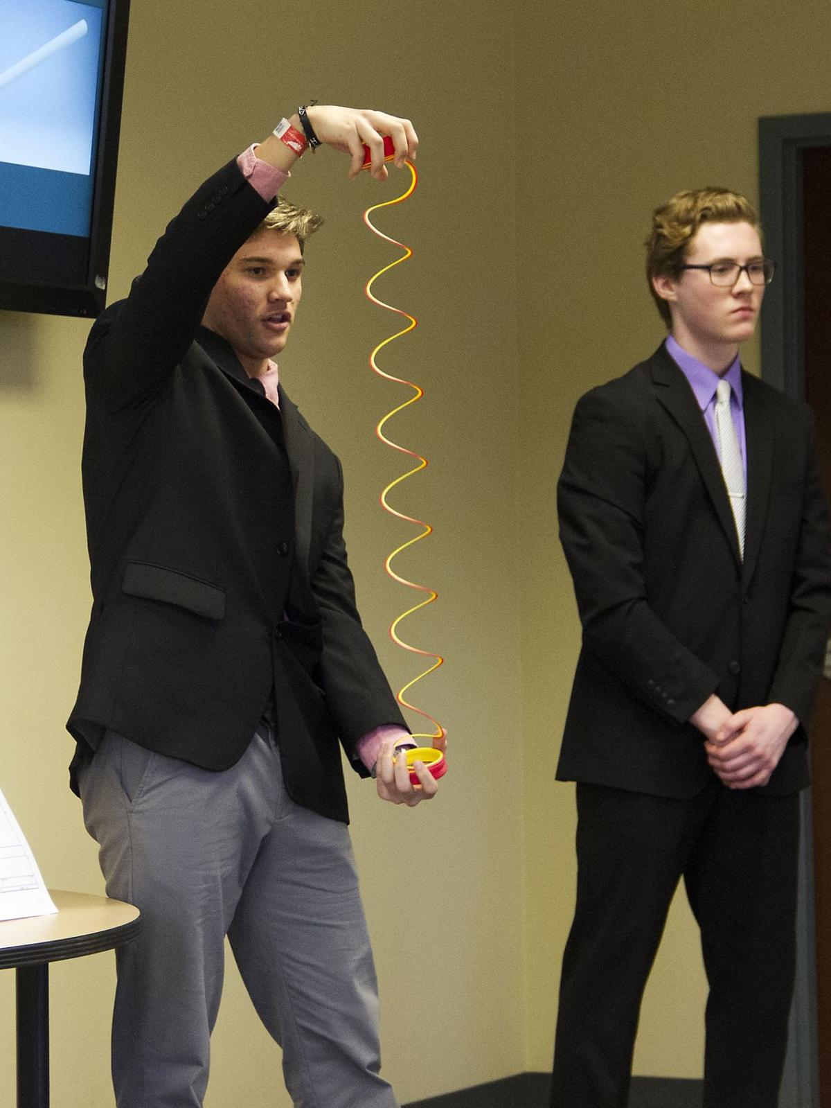 Upper St. Clair, Bethel Park students share real-world solutions with manufacturer