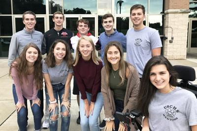 Upper St. Clair High School 2018 Homecoming Court