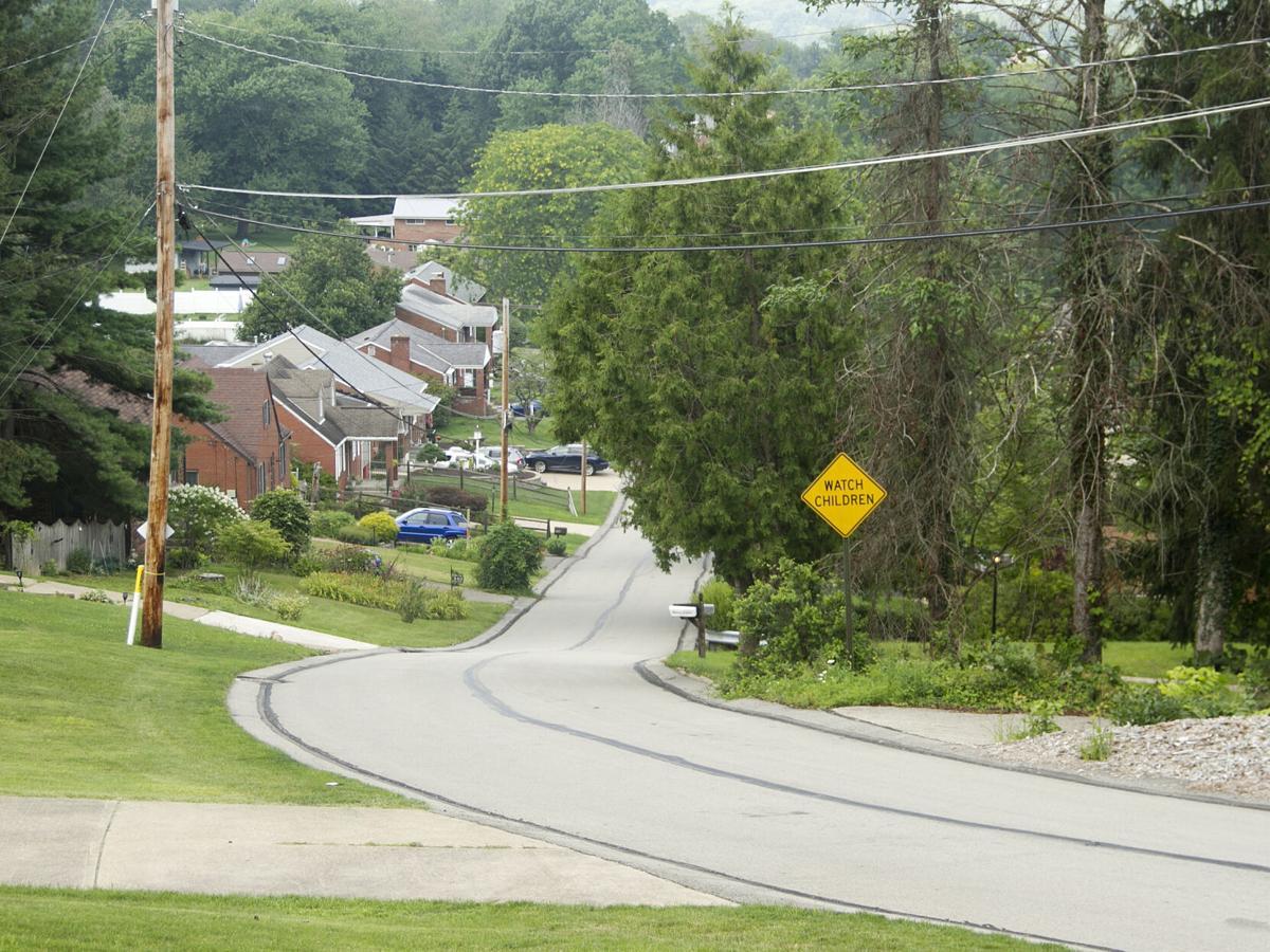 Franklin Drive hill