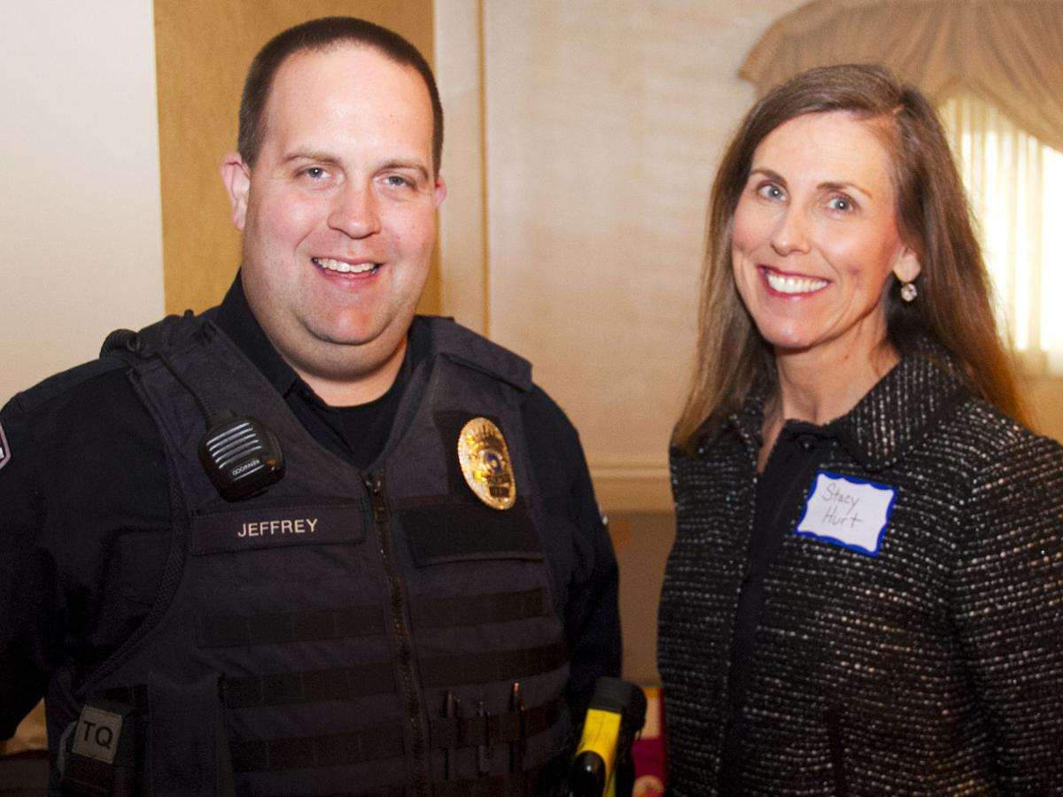 Jim Jeffrey and Stacy Hurt