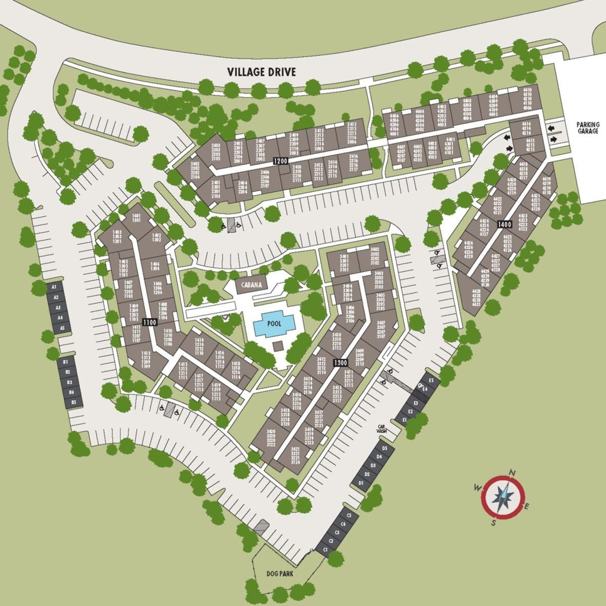 Nearby Apartment Complexes: New Apartment Complex Near South Hills Village Nears