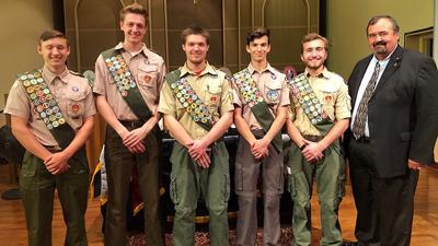 Troop 215 Eagle Scouts