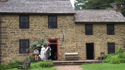 Oliver Miller Homestead volunteers re-create frontier weddings