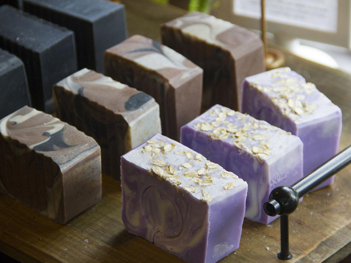 Bombash & Earley cleansing bars