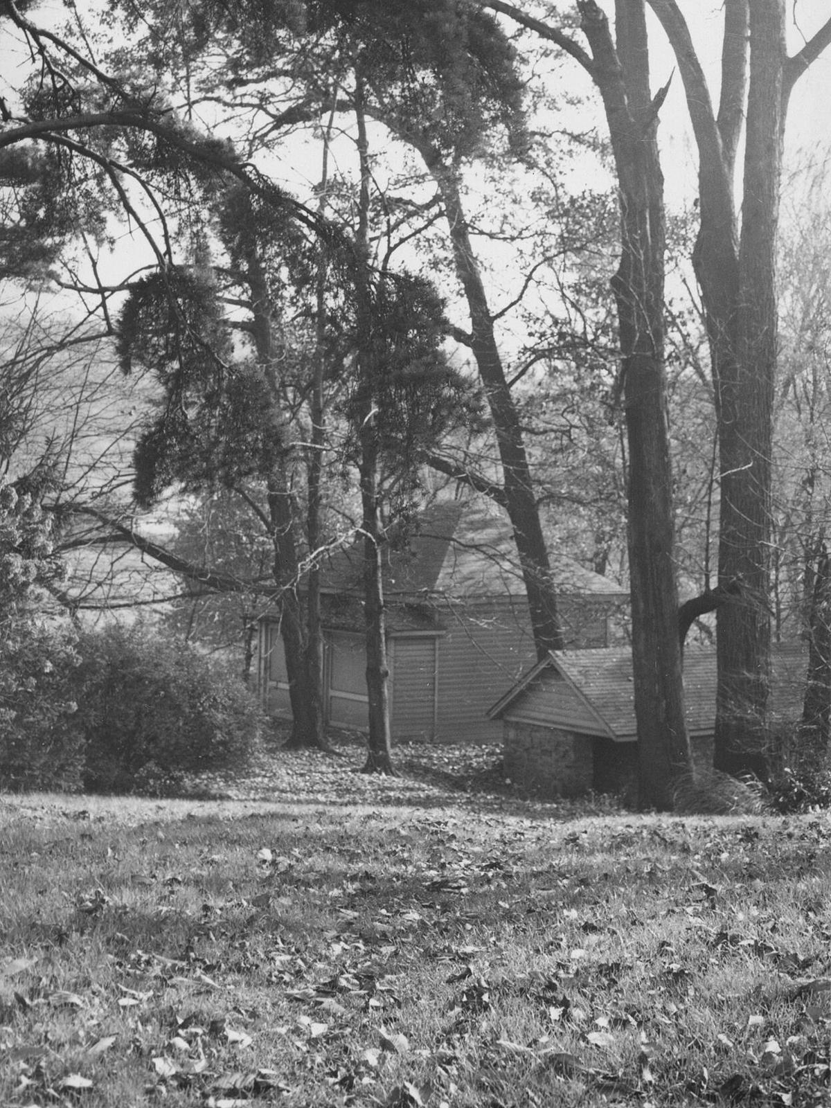 Historic springhouse