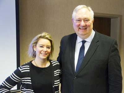 Mandy Prior and Zen Piotrowski