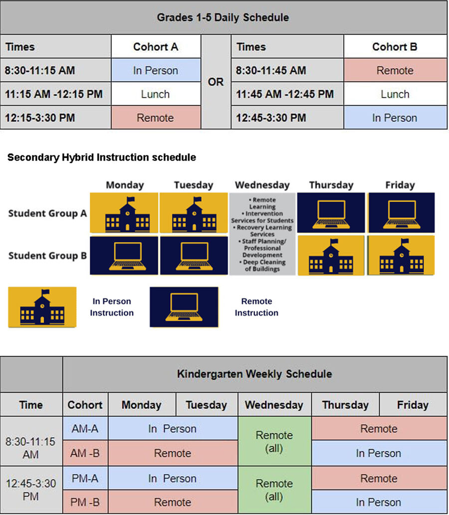 Mt. Lebanon schedules