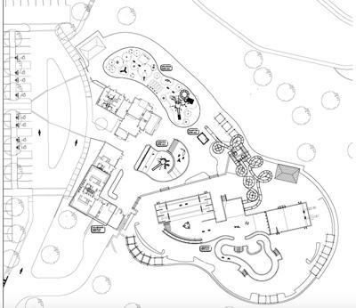 Aquatic center sketch