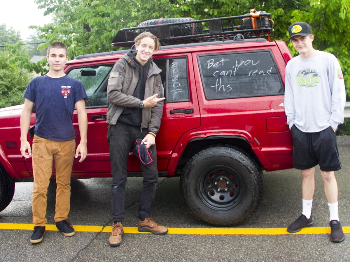 Brady Stallings, Josh Fabus and Anthony Boes