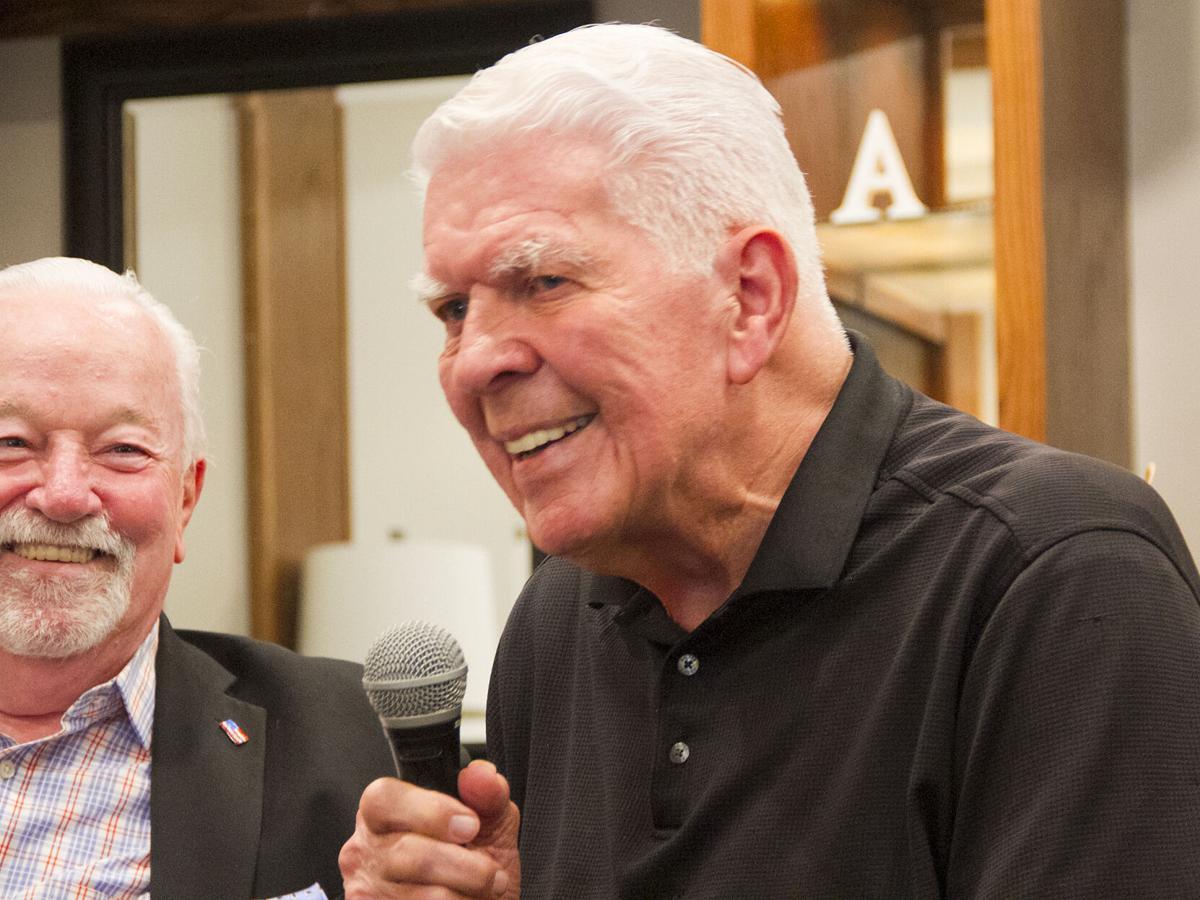 Jim O'Brien and Joe Unitas