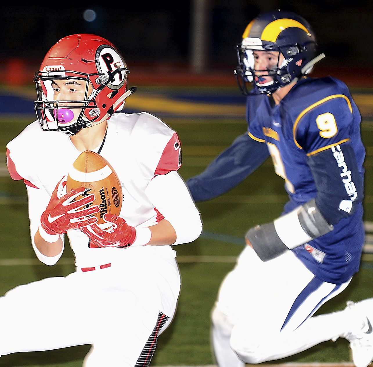 Peters Township, Canon McMillan Battle In Backyard Brawl