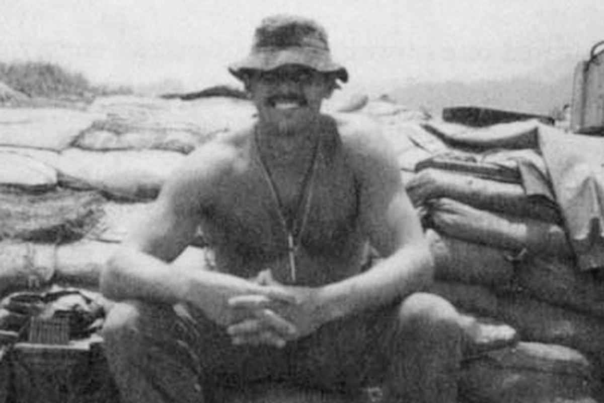 Rocky Bleier in Vietnam