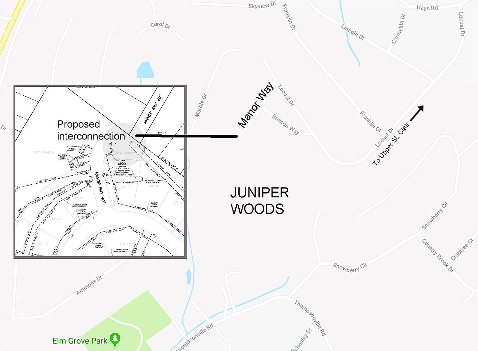 Peters Township pursues eminent domain for connector road