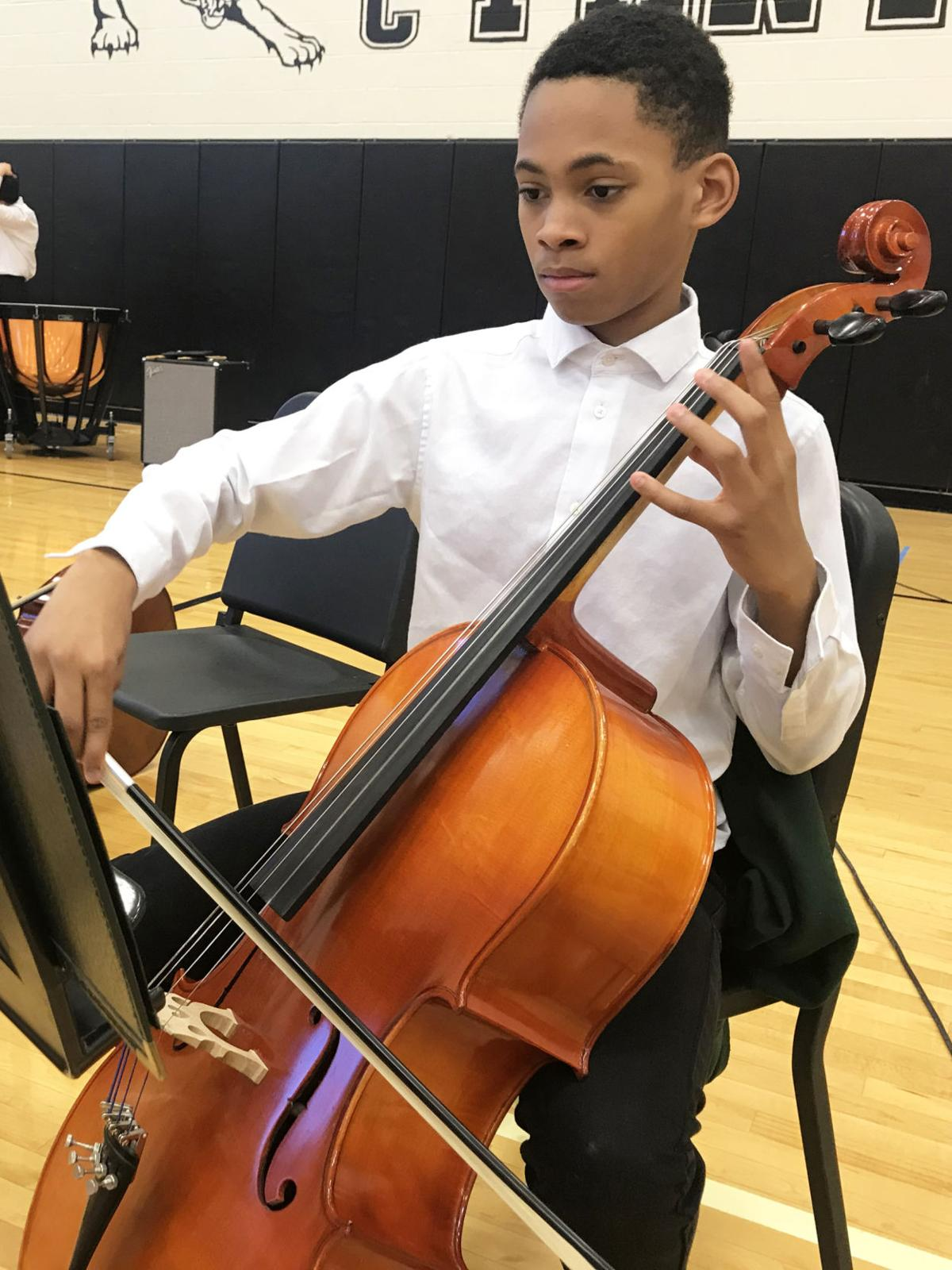 Upper St. Clair cello player