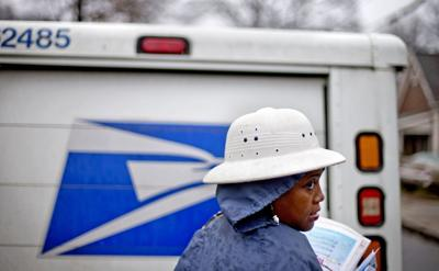 Postal Service: More red ink, late payments as mail slumps