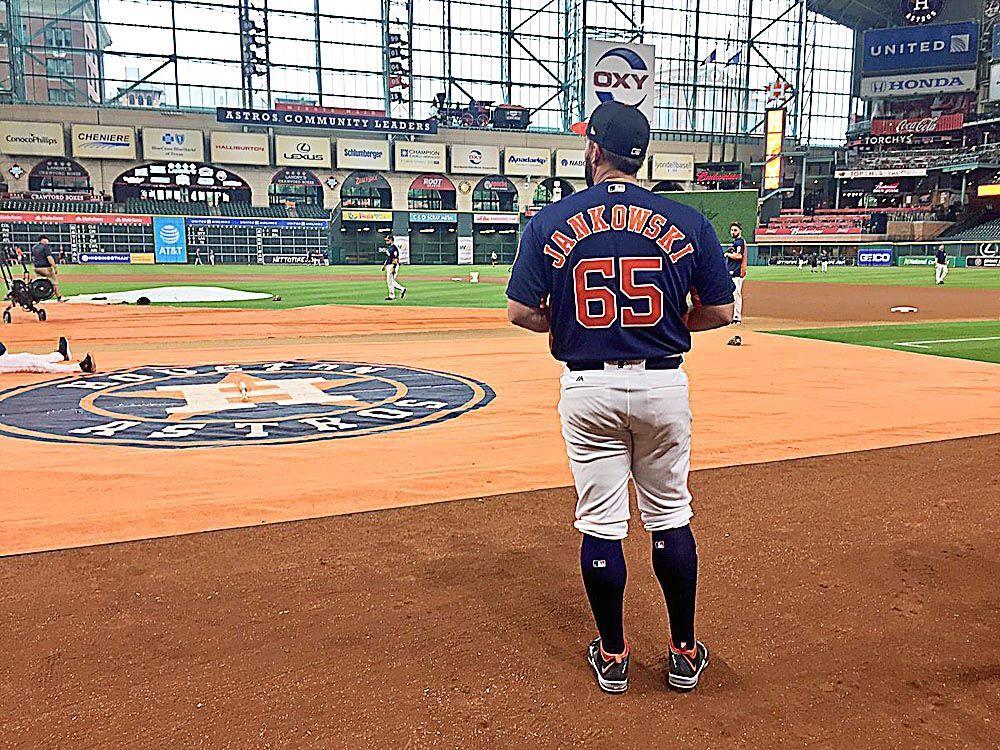 Taste of Major League Baseball has Jankowski eager for return to Astros