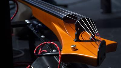 Instructor returns for Electrify Your Strings program at Bethel Park