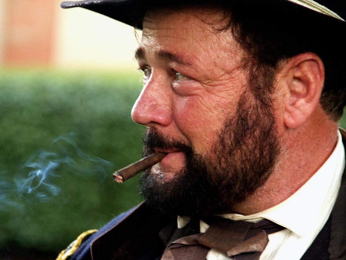 Of cigars and Civil War: History impressionist channels U.S. Grant in Mt. Lebanon