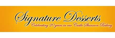 Logo for Signature Desserts