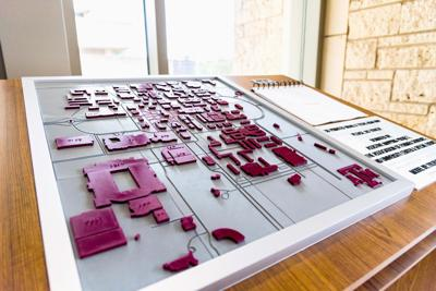 After Years Of Work A 3 D Printed Braille Map Is Available For Interaction